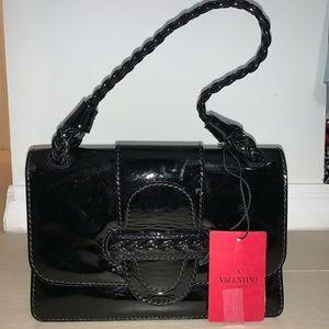"Valentino Bag ""Historia"" Black Patent Leather"